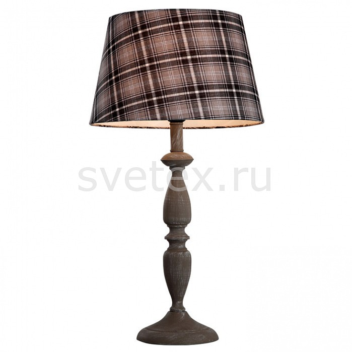 Фото Настольная лампа Arte Lamp E27 220В 40Вт Scotch A3090LT-1GY