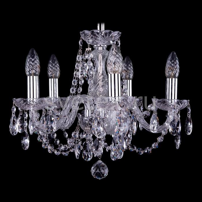 Фото Подвесная люстра Bohemia Ivele Crystal 1406 1406/5/141/Ni