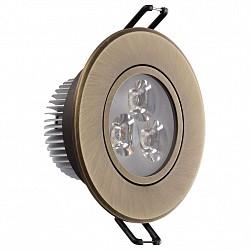 Встраиваемый светильник MW-LightСветильники для натяжных потолков<br>Артикул - MW_637012203,Бренд - MW-Light (Германия),Коллекция - Круз,Гарантия, месяцы - 24,Диаметр, мм - 90,Тип лампы - светодиодная [LED],Общее кол-во ламп - 3,Напряжение питания лампы, В - 220,Максимальная мощность лампы, Вт - 1,Лампы в комплекте - светодиодные [LED],Цвет арматуры - бронза,Тип поверхности арматуры - матовый,Материал арматуры - металл,Класс электробезопасности - I,Общая мощность, Вт - 3,Степень пылевлагозащиты, IP - 20,Диапазон рабочих температур - комнатная температура,Дополнительные параметры - поворотный светильник<br>