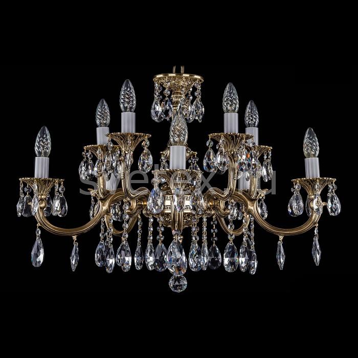 Фото Подвесная люстра Bohemia Ivele Crystal 1702 1702/5_5/265_110/A/GB