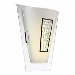 Накладной светильник GloboСветодиодные<br>Артикул - GB_48240W,Бренд - Globo (Австрия),Коллекция - Amada,Гарантия, месяцы - 24,Высота, мм - 300,Тип лампы - светодиодная [LED],Общее кол-во ламп - 1,Напряжение питания лампы, В - 13.2,Максимальная мощность лампы, Вт - 8,Лампы в комплекте - светодиодная [LED],Цвет плафонов и подвесок - белый, неокрашенный,Тип поверхности плафонов - матовый, прозрачный,Материал плафонов и подвесок - стекло, хрусталь K5,Цвет арматуры - неокрашенный, хром,Тип поверхности арматуры - глянцевый,Материал арматуры - металл,Возможность подлючения диммера - нельзя,Класс электробезопасности - I,Степень пылевлагозащиты, IP - 20,Диапазон рабочих температур - комнатная температура,Дополнительные параметры - светильник предназначен для использования со скрытой проводкой<br>
