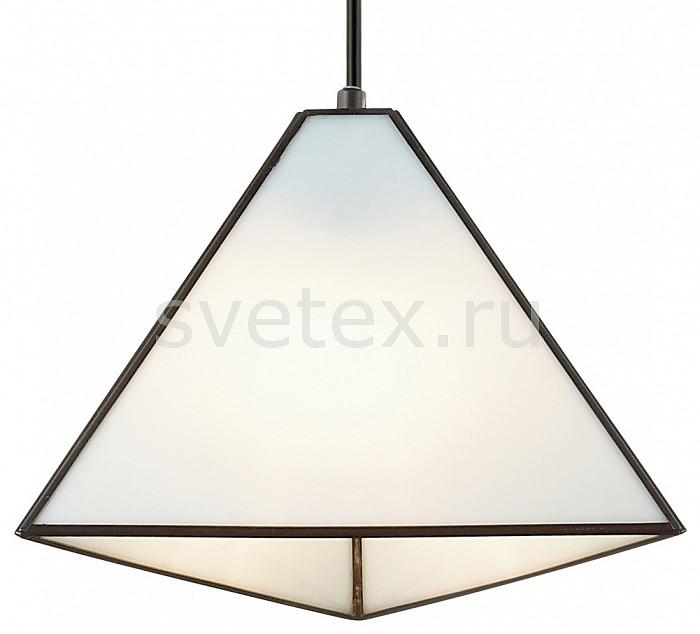 Подвесной светильник FavouriteБарные<br>Артикул - FV_1918-1P,Бренд - Favourite (Германия),Коллекция - Pyramid,Гарантия, месяцы - 24,Высота, мм - 195-1300,Диаметр, мм - 255,Тип лампы - компактная люминесцентная [КЛЛ] ИЛИнакаливания ИЛИсветодиодная [LED],Общее кол-во ламп - 1,Напряжение питания лампы, В - 220,Максимальная мощность лампы, Вт - 40,Лампы в комплекте - отсутствуют,Цвет плафонов и подвесок - белый,Тип поверхности плафонов - матовый,Материал плафонов и подвесок - стекло,Цвет арматуры - черный,Тип поверхности арматуры - матовый,Материал арматуры - металл,Количество плафонов - 1,Возможность подлючения диммера - можно, если установить лампу накаливания,Тип цоколя лампы - E14,Класс электробезопасности - I,Степень пылевлагозащиты, IP - 20,Диапазон рабочих температур - комнатная температура,Дополнительные параметры - способ крепления светильника к потолку - на монтажной пластине, регулируется по высоте, стиль Тиффани<br>
