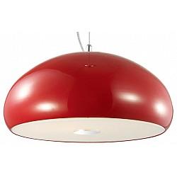 Подвесной светильник ST-LuceДля кухни<br>Артикул - SL856.603.03,Бренд - ST-Luce (Китай),Коллекция - Glitter,Гарантия, месяцы - 24,Высота, мм - 1000,Диаметр, мм - 400,Размер упаковки, мм - 460x460x300,Тип лампы - компактная люминесцентная [КЛЛ] ИЛИнакаливания ИЛИсветодиодная [LED],Общее кол-во ламп - 3,Напряжение питания лампы, В - 220,Максимальная мощность лампы, Вт - 60,Лампы в комплекте - отсутствуют,Цвет плафонов и подвесок - красный, неокрашенный,Тип поверхности плафонов - глянцевый, матовый,Материал плафонов и подвесок - металл, стекло,Цвет арматуры - хром,Тип поверхности арматуры - глянцевый,Материал арматуры - металл,Возможность подлючения диммера - можно, если установить лампу накаливания,Тип цоколя лампы - E27,Класс электробезопасности - I,Общая мощность, Вт - 180,Степень пылевлагозащиты, IP - 20,Диапазон рабочих температур - комнатная температура,Дополнительные параметры - способ крепления светильника к потолку - на монтажной пластине, регулируется по высоте<br>