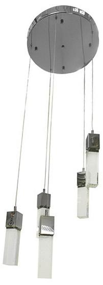 Подвесной светильник Kink LightСветодиодные<br>Артикул - KL_08510-5A,Бренд - Kink Light (Китай),Коллекция - Аква,Гарантия, месяцы - 24,Высота, мм - 1300,Диаметр, мм - 410,Тип лампы - светодиодная [LED],Общее кол-во ламп - 5,Напряжение питания лампы, В - 220,Максимальная мощность лампы, Вт - 5,Цвет лампы - белый теплый, белый, белый дневной,Лампы в комплекте - светодиодные [LED],Цвет плафонов и подвесок - неокрашенный,Тип поверхности плафонов - прозрачная,Материал плафонов и подвесок - стекло,Цвет арматуры - хром,Тип поверхности арматуры - глянцевый,Материал арматуры - металл,Количество плафонов - 5,Возможность подлючения диммера - нельзя,Цветовая температура, K - 3000 K, 4200 K, 6000 K,Экономичнее лампы накаливания - в 10 раз,Класс электробезопасности - I,Общая мощность, Вт - 25,Степень пылевлагозащиты, IP - 20,Диапазон рабочих температур - комнатная температура,Дополнительные параметры - способ крепления светильника к потолку - на монжатной пластине, регулируется по высоте<br>