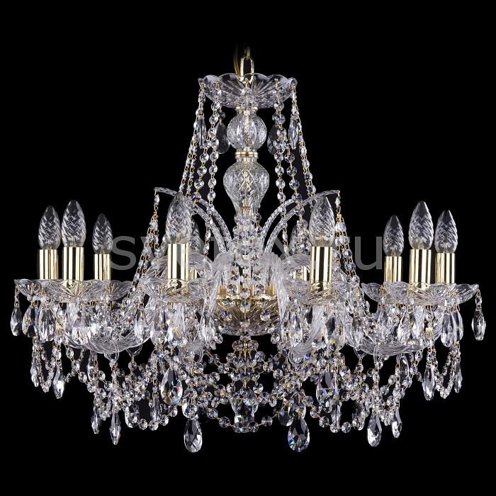 Фото Подвесная люстра Bohemia Ivele Crystal 1411 1411/10/240/G