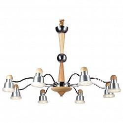 Подвесная люстра Lucia TucciМеталлические плафоны<br>Артикул - LT_Natura_159.8,Бренд - Lucia Tucci (Италия),Коллекция - Natura,Гарантия, месяцы - 24,Высота, мм - 790,Диаметр, мм - 690,Тип лампы - светодиодная [LED],Общее кол-во ламп - 8,Напряжение питания лампы, В - 220,Максимальная мощность лампы, Вт - 5,Лампы в комплекте - светодиодные [LED],Цвет плафонов и подвесок - белый, хром,Тип поверхности плафонов - глянцевый, матовый,Материал плафонов и подвесок - акрил, металл,Цвет арматуры - сосна, хром,Тип поверхности арматуры - глянцевый, матовый,Материал арматуры - дерево, металл,Возможность подлючения диммера - нельзя,Класс электробезопасности - I,Общая мощность, Вт - 40,Степень пылевлагозащиты, IP - 20,Диапазон рабочих температур - комнатная температура,Дополнительные параметры - регулируется по высоте,  способ крепления светильника к потолку – на крюке<br>