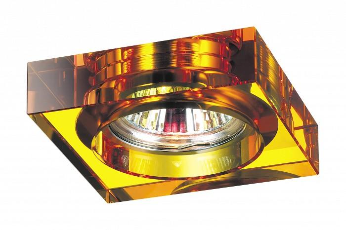 Фото Встраиваемый светильник Novotech Glass 369485
