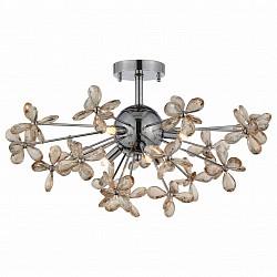 Люстра на штанге ST-Luce5 или 6 ламп<br>Артикул - SL788.202.06,Бренд - ST-Luce (Китай),Коллекция - SL788,Гарантия, месяцы - 24,Высота, мм - 340,Диаметр, мм - 600,Размер упаковки, мм - 490х410х275,Тип лампы - галогеновая,Общее кол-во ламп - 6,Напряжение питания лампы, В - 220,Максимальная мощность лампы, Вт - 40,Лампы в комплекте - галогеновые G9,Цвет плафонов и подвесок - янтарный,Тип поверхности плафонов - прозрачный,Материал плафонов и подвесок - хрусталь,Цвет арматуры - хром,Тип поверхности арматуры - глянцевый, металлик,Материал арматуры - металл,Возможность подлючения диммера - можно,Форма и тип колбы - пальчиковая,Тип цоколя лампы - G9,Класс электробезопасности - I,Общая мощность, Вт - 240,Степень пылевлагозащиты, IP - 20,Диапазон рабочих температур - комнатная температура,Дополнительные параметры - способ крепления светильника к потолку – на монтажной пластине<br>