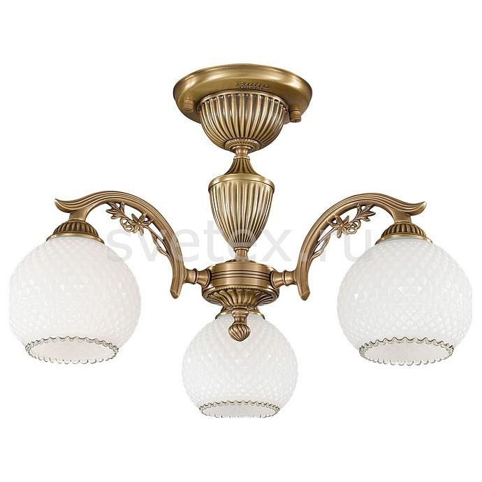 Люстра на штанге Reccagni AngeloЛюстры<br>Артикул - RA_PL_8620_3,Бренд - Reccagni Angelo (Италия),Коллекция - 8600,Гарантия, месяцы - 24,Высота, мм - 320,Диаметр, мм - 540,Тип лампы - компактная люминесцентная [КЛЛ] ИЛИнакаливания ИЛИсветодиодная [LED],Общее кол-во ламп - 3,Напряжение питания лампы, В - 220,Максимальная мощность лампы, Вт - 60,Лампы в комплекте - отсутствуют,Цвет плафонов и подвесок - белый,Тип поверхности плафонов - матовый, рельефный,Материал плафонов и подвесок - стекло,Цвет арматуры - бронза состаренная,Тип поверхности арматуры - матовый, рельефный,Материал арматуры - латунь,Количество плафонов - 3,Возможность подлючения диммера - можно, если установить лампу накаливания,Тип цоколя лампы - E27,Класс электробезопасности - I,Общая мощность, Вт - 180,Степень пылевлагозащиты, IP - 20,Диапазон рабочих температур - комнатная температура,Дополнительные параметры - способ крепления к потолку - на монтажной пластине<br>