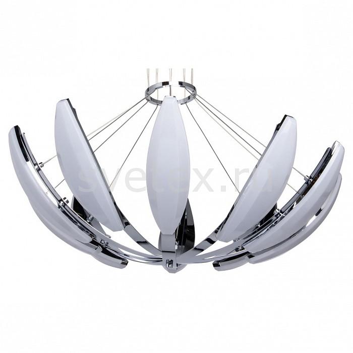Подвесная люстра RegenBogen LIFEПолимерные плафоны<br>Артикул - MW_609013210,Бренд - RegenBogen LIFE (Германия),Коллекция - Фленсбург 9,Гарантия, месяцы - 24,Высота, мм - 150-1500,Диаметр, мм - 800,Тип лампы - светодиодная [LED],Общее кол-во ламп - 10,Напряжение питания лампы, В - 220,Максимальная мощность лампы, Вт - 9,Цвет лампы - белый,Лампы в комплекте - светодиодные [LED],Цвет плафонов и подвесок - белый,Тип поверхности плафонов - матовый,Материал плафонов и подвесок - акрил,Цвет арматуры - хром,Тип поверхности арматуры - глянцевый,Материал арматуры - металл,Количество плафонов - 10,Возможность подлючения диммера - нельзя,Цветовая температура, K - 4000K,Световой поток, лм - 7200,Экономичнее лампы накаливания - в 7.3 раза,Светоотдача, лм/Вт - 80,Класс электробезопасности - I,Общая мощность, Вт - 90,Степень пылевлагозащиты, IP - 20,Диапазон рабочих температур - комнатная температура,Дополнительные параметры - способ крепления светильника к потолку - на монтажной пластине, светильник регулируется по высоте<br>