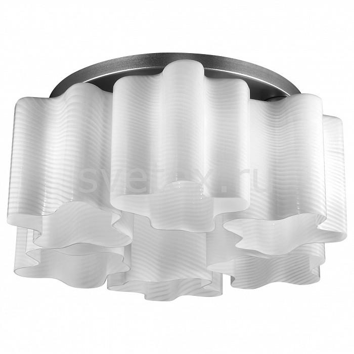 Потолочная люстра ST-LuceЛюстры<br>Артикул - SL117.502.06,Бренд - ST-Luce (Китай),Коллекция - Onde,Гарантия, месяцы - 24,Время изготовления, дней - 1,Высота, мм - 250,Диаметр, мм - 520,Тип лампы - компактная люминесцентная [КЛЛ] ИЛИнакаливания ИЛИсветодиодная [LED],Общее кол-во ламп - 6,Напряжение питания лампы, В - 220,Максимальная мощность лампы, Вт - 60,Лампы в комплекте - отсутствуют,Цвет плафонов и подвесок - белый полосатый,Тип поверхности плафонов - матовый,Материал плафонов и подвесок - стекло,Цвет арматуры - серебро,Тип поверхности арматуры - глянцевый,Материал арматуры - металл,Количество плафонов - 6,Возможность подлючения диммера - можно, если установить лампу накаливания,Тип цоколя лампы - E27,Класс электробезопасности - I,Общая мощность, Вт - 360,Степень пылевлагозащиты, IP - 20,Диапазон рабочих температур - комнатная температура,Дополнительные параметры - способ крепления светильника к потолку – на монтажной пластине<br>