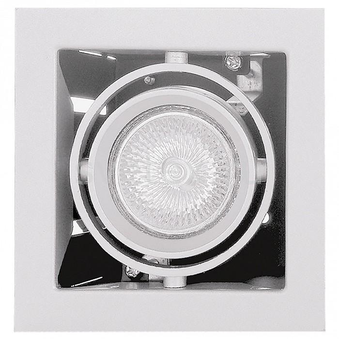 Встраиваемый светильник LightstarКвадратные<br>Артикул - LS_214010,Бренд - Lightstar (Италия),Коллекция - Cardano,Гарантия, месяцы - 24,Время изготовления, дней - 1,Длина, мм - 110,Ширина, мм - 110,Высота, мм - 105,Выступ, мм - 5,Глубина, мм - 100,Размер врезного отверстия, мм - 95x95,Тип лампы - галогеновая ИЛИсветодиодная [LED],Общее кол-во ламп - 1,Напряжение питания лампы, В - 220,Максимальная мощность лампы, Вт - 50,Лампы в комплекте - отсутствуют,Цвет плафонов и подвесок - белый,Тип поверхности плафонов - матовый,Материал плафонов и подвесок - металл,Цвет арматуры - белый,Тип поверхности арматуры - матовый,Материал арматуры - металл,Количество плафонов - 1,Возможность подлючения диммера - можно, если установить галогеновую лампу,Форма и тип колбы - полусферическая с рефлектором ИЛИполусферическая с радиатором,Тип цоколя лампы - GU5.3,Экономичнее лампы накаливания - на 50 %,Класс электробезопасности - I,Степень пылевлагозащиты, IP - 20,Диапазон рабочих температур - комнатная температура,Дополнительные параметры - поворотный светильник, возможна установка лампы GU5.3 (MR-16) на 12 В с подключением через трансформатор 12 В<br>