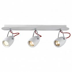 Спот Arte LampС 3 лампами<br>Артикул - AR_A4005PL-3WH,Бренд - Arte Lamp (Италия),Коллекция - Atlantis,Гарантия, месяцы - 24,Размер упаковки, мм - 100x580x180,Тип лампы - галогеновая ИЛИсветодиодная [LED],Общее кол-во ламп - 3,Напряжение питания лампы, В - 220,Максимальная мощность лампы, Вт - 50,Лампы в комплекте - отсутствуют,Цвет плафонов и подвесок - белый,Тип поверхности плафонов - глянцевый,Материал плафонов и подвесок - металл,Цвет арматуры - белый,Тип поверхности арматуры - глянцевый,Материал арматуры - металл,Возможность подлючения диммера - можно, если установить галогеновую лампу,Форма и тип колбы - полусферическая с рефлектором,Тип цоколя лампы - GU10,Класс электробезопасности - I,Общая мощность, Вт - 150,Степень пылевлагозащиты, IP - 20,Диапазон рабочих температур - комнатная температура,Дополнительные параметры - способ крепления светильника к потолку и стене – на монтажной пластине, поворотный светильник<br>