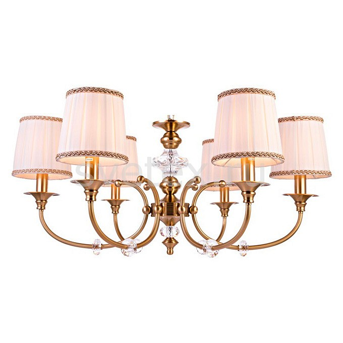 Подвесная люстра Crystal LuxСветильники<br>Артикул - CU_2060_306,Бренд - Crystal Lux (Испания),Коллекция - Iridium,Гарантия, месяцы - 24,Высота, мм - 390-1250,Диаметр, мм - 800,Тип лампы - компактная люминесцентная [КЛЛ] ИЛИнакаливания ИЛИсветодиодная [LED],Общее кол-во ламп - 6,Напряжение питания лампы, В - 220,Максимальная мощность лампы, Вт - 60,Лампы в комплекте - отсутствуют,Цвет плафонов и подвесок - бежевый с каймой,Тип поверхности плафонов - матовый,Материал плафонов и подвесок - текстиль,Цвет арматуры - бронза античная, неокрашенная,Тип поверхности арматуры - матовый, прозрачный,Материал арматуры - металл, стекло,Количество плафонов - 6,Возможность подлючения диммера - можно, если установить лампу накаливания,Тип цоколя лампы - E14,Класс электробезопасности - I,Общая мощность, Вт - 360,Степень пылевлагозащиты, IP - 20,Диапазон рабочих температур - комнатная температура,Дополнительные параметры - способ крепления светильника к потолку - на монтажной пластине, регулируется по высоте, диаметр основания 140 мм<br>