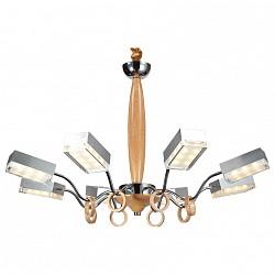 Подвесная люстра Lucia TucciПолимерные плафоны<br>Артикул - LT_Natura_156.8,Бренд - Lucia Tucci (Италия),Коллекция - Natura,Гарантия, месяцы - 24,Высота, мм - 790,Диаметр, мм - 690,Тип лампы - светодиодная [LED],Общее кол-во ламп - 8,Напряжение питания лампы, В - 220,Максимальная мощность лампы, Вт - 5,Лампы в комплекте - светодиодные [LED],Цвет плафонов и подвесок - белый,Тип поверхности плафонов - матовый,Материал плафонов и подвесок - акрил,Цвет арматуры - сосна, хром,Тип поверхности арматуры - глянцевый, матовый,Материал арматуры - дерево, металл,Возможность подлючения диммера - нельзя,Класс электробезопасности - I,Общая мощность, Вт - 40,Степень пылевлагозащиты, IP - 20,Диапазон рабочих температур - комнатная температура,Дополнительные параметры - регулируется по высоте,  способ крепления светильника к потолку – на крюке<br>