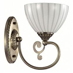 Бра LumionС 1 лампой<br>Артикул - LMN_3089_1W,Бренд - Lumion (Италия),Коллекция - Liona,Гарантия, месяцы - 24,Высота, мм - 250,Размер упаковки, мм - 210x170x300,Тип лампы - компактная люминесцентная [КЛЛ] ИЛИнакаливания ИЛИсветодиодная [LED],Общее кол-во ламп - 1,Напряжение питания лампы, В - 220,Максимальная мощность лампы, Вт - 40,Лампы в комплекте - отсутствуют,Цвет плафонов и подвесок - белый полосатый,Тип поверхности плафонов - прозрачный, рельефный,Материал плафонов и подвесок - стекло,Цвет арматуры - бронза,Тип поверхности арматуры - матовый, металлик,Материал арматуры - металл,Возможность подлючения диммера - можно, если установить лампу накаливания,Тип цоколя лампы - E14,Класс электробезопасности - I,Степень пылевлагозащиты, IP - 20,Диапазон рабочих температур - комнатная температура,Дополнительные параметры - способ крепления светильника на стене – на монтажной пластине, светильник предназначен для использования со скрытой проводкой<br>