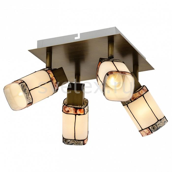 Спот LussoleКвадратные<br>Артикул - LSP-0221,Бренд - Lussole (Италия),Коллекция - LSP-02,Гарантия, месяцы - 24,Время изготовления, дней - 1,Длина, мм - 360,Ширина, мм - 360,Выступ, мм - 120,Тип лампы - компактная люминесцентная [КЛЛ] ИЛИнакаливания ИЛИсветодиодная [LED],Общее кол-во ламп - 4,Напряжение питания лампы, В - 220,Максимальная мощность лампы, Вт - 40,Лампы в комплекте - отсутствуют,Цвет плафонов и подвесок - белый с цветным рисунком,Тип поверхности плафонов - матовый, рельефный,Материал плафонов и подвесок - стекло,Цвет арматуры - бронза,Тип поверхности арматуры - матовый,Материал арматуры - металл,Количество плафонов - 4,Возможность подлючения диммера - можно, если установить лампу накаливания,Тип цоколя лампы - E14,Класс электробезопасности - I,Общая мощность, Вт - 120,Степень пылевлагозащиты, IP - 20,Диапазон рабочих температур - комнатная температура,Дополнительные параметры - поворотный светильник<br>