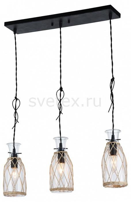 Подвесной светильник MaytoniБарные<br>Артикул - MY_H099-03-B,Бренд - Maytoni (Германия),Коллекция - Rappe,Гарантия, месяцы - 24,Длина, мм - 630,Ширина, мм - 120,Высота, мм - 227-1257,Тип лампы - компактная люминесцентная [КЛЛ] ИЛИнакаливания ИЛИсветодиодная [LED],Общее кол-во ламп - 3,Напряжение питания лампы, В - 220,Максимальная мощность лампы, Вт - 40,Лампы в комплекте - отсутствуют,Цвет плафонов и подвесок - неокрашенный, светло-коричневый,Тип поверхности плафонов - прозрачный,Материал плафонов и подвесок - ротанг, стекло,Цвет арматуры - черный,Тип поверхности арматуры - матовый,Материал арматуры - металл,Количество плафонов - 3,Возможность подлючения диммера - можно, если установить лампу накаливания,Тип цоколя лампы - E14,Класс электробезопасности - I,Общая мощность, Вт - 120,Степень пылевлагозащиты, IP - 20,Диапазон рабочих температур - комнатная температура,Дополнительные параметры - способ крепления светильника к потолку - на монтажной пластине, регулируется по высоте<br>