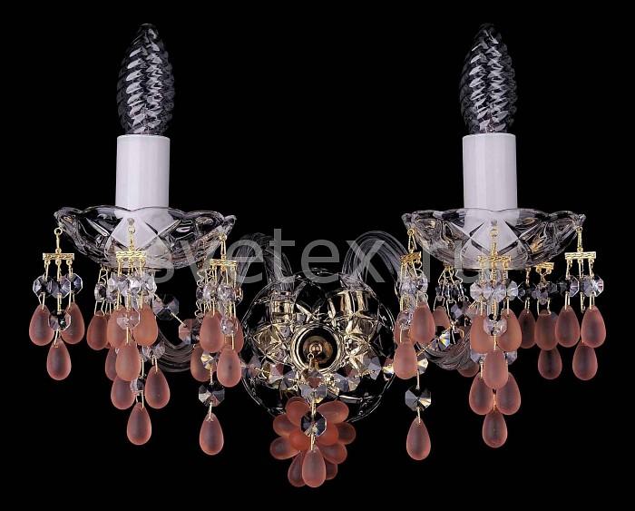Фото Бра Bohemia Ivele Crystal 1410 1410/2/G/7010