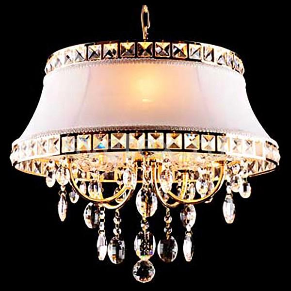 Фото Подвесной светильник Eurosvet 3271 3271/5 золото/белый Strotskis