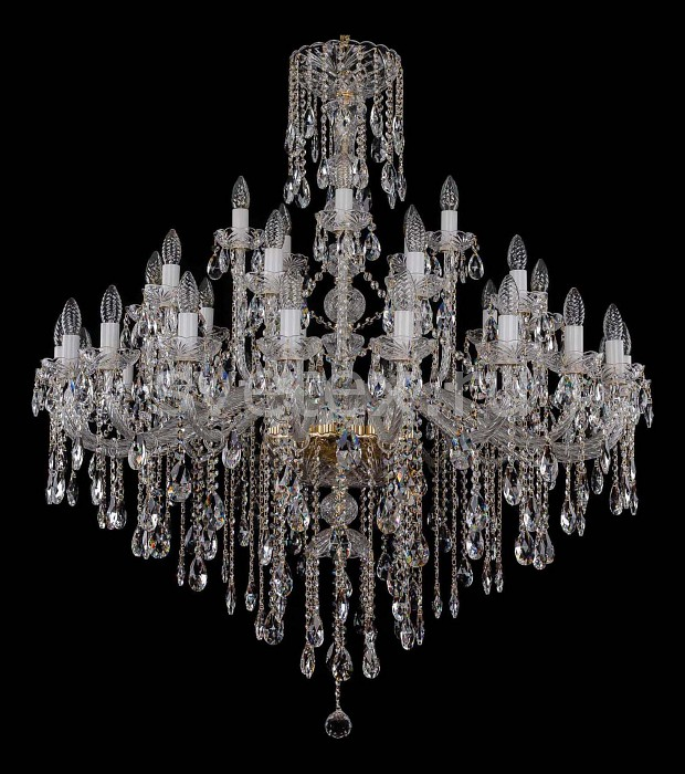 Фото Подвесная люстра Bohemia Ivele Crystal 1415 1415/20_10_5/400/G