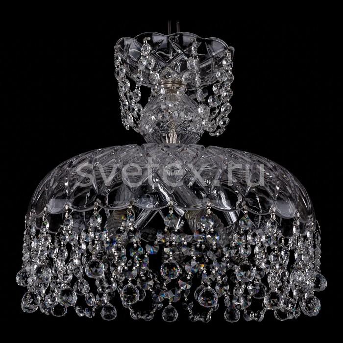 Фото Подвесной светильник Bohemia Ivele Crystal 7711 7711/35/Ni/Balls