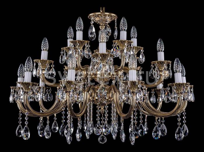 Фото Подвесная люстра Bohemia Ivele Crystal 1702 1702/10_5_5/335-64/A/GB