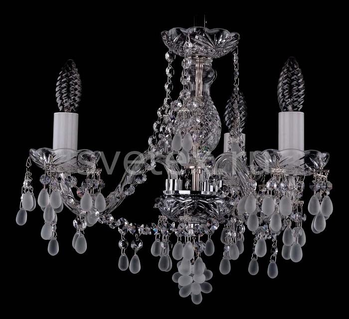 Фото Подвесная люстра Bohemia Ivele Crystal 1410 1410/3/141/Ni/0300