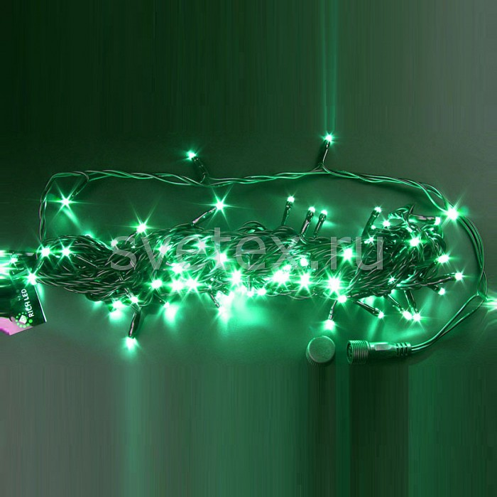 Гирлянда на деревья RichLEDГирлянды на деревья<br>Артикул - RL_RL-S10C-24V-G,Бренд - RichLED (Россия),Коллекция - RL-S10C,Время изготовления, дней - 1,Длина, мм - 10000,Длина - 10 м,Тип лампы - светодиодная [LED],Количество ламп - 100,Общее кол-во ламп - 100,Напряжение питания лампы, В - 24,Цвет лампы - зеленый,Лампы в комплекте - светодиодные [LED],Число нитей - 1,Число гирлянд, соединенных вместе - 8,Необходимые компоненты - блок питания RL_RL-220AC_DC2_60W; RL_RL-220AC_DC2_60W-W,Ресурс лампы - 60 тыс.часов,Цвет провода - черный,Класс электробезопасности - I,Общая мощность, Вт - 4,Степень пылевлагозащиты, IP - 54,Диапазон рабочих температур - от -40^C до +40^C,Дополнительные параметры - свечение с постоянной яркостью<br>