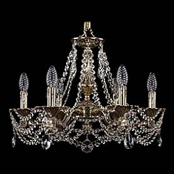 Подвесная люстра Bohemia Ivele Crystal5 или 6 ламп<br>Артикул - BI_1710_6_160_C_GB,Бренд - Bohemia Ivele Crystal (Чехия),Коллекция - 1710,Гарантия, месяцы - 24,Высота, мм - 360,Диаметр, мм - 540,Размер упаковки, мм - 450x450x200,Тип лампы - компактная люминесцентная [КЛЛ] ИЛИнакаливания ИЛИсветодиодная [LED],Общее кол-во ламп - 6,Напряжение питания лампы, В - 220,Максимальная мощность лампы, Вт - 40,Лампы в комплекте - отсутствуют,Цвет плафонов и подвесок - неокрашенный,Тип поверхности плафонов - прозрачный,Материал плафонов и подвесок - хрусталь,Цвет арматуры - золото черненое,Тип поверхности арматуры - глянцевый, рельефный,Материал арматуры - латунь,Возможность подлючения диммера - можно, если установить лампу накаливания,Форма и тип колбы - свеча ИЛИ свеча на ветру,Тип цоколя лампы - E14,Класс электробезопасности - I,Общая мощность, Вт - 240,Степень пылевлагозащиты, IP - 20,Диапазон рабочих температур - комнатная температура,Дополнительные параметры - способ крепления светильника к потолку - на крюке, указана высота светильника без подвеса<br>