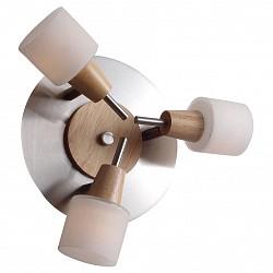 Спот Lucia TucciС 3 лампами<br>Артикул - LT_Natura_W091.3R,Бренд - Lucia Tucci (Италия),Коллекция - Natura,Гарантия, месяцы - 24,Диаметр, мм - 270,Тип лампы - светодиодная [LED],Общее кол-во ламп - 3,Напряжение питания лампы, В - 220,Максимальная мощность лампы, Вт - 15,Лампы в комплекте - светодиодные [LED] G4,Цвет плафонов и подвесок - белый,Тип поверхности плафонов - матовый,Материал плафонов и подвесок - стекло,Цвет арматуры - сосна, хром,Тип поверхности арматуры - глянцевый, матовый,Материал арматуры - дерево, металл,Возможность подлючения диммера - можно,Форма и тип колбы - пальчиковая,Тип цоколя лампы - G4,Класс электробезопасности - I,Общая мощность, Вт - 45,Степень пылевлагозащиты, IP - 20,Диапазон рабочих температур - комнатная температура,Дополнительные параметры - поворотный светильник<br>