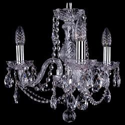 Подвесная люстра Bohemia Ivele CrystalНе более 4 ламп<br>Артикул - BI_1402_3_141_Ni,Бренд - Bohemia Ivele Crystal (Чехия),Коллекция - 1402,Гарантия, месяцы - 24,Высота, мм - 340,Диаметр, мм - 440,Размер упаковки, мм - 450x450x200,Тип лампы - компактная люминесцентная [КЛЛ] ИЛИнакаливания ИЛИсветодиодная [LED],Общее кол-во ламп - 3,Напряжение питания лампы, В - 220,Максимальная мощность лампы, Вт - 40,Лампы в комплекте - отсутствуют,Цвет плафонов и подвесок - неокрашенный,Тип поверхности плафонов - прозрачный,Материал плафонов и подвесок - хрусталь,Цвет арматуры - неокрашенный, никель,Тип поверхности арматуры - глянцевый, прозрачный,Материал арматуры - металл, стекло,Возможность подлючения диммера - можно, если установить лампу накаливания,Форма и тип колбы - свеча,Тип цоколя лампы - E14,Класс электробезопасности - I,Общая мощность, Вт - 120,Степень пылевлагозащиты, IP - 20,Диапазон рабочих температур - комнатная температура,Дополнительные параметры - способ крепления светильника к потолку – на крюке<br>