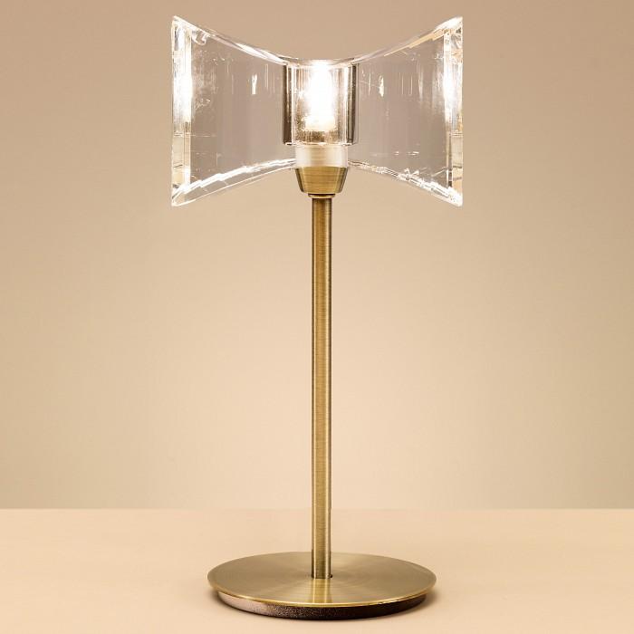 Фото Настольная лампа Mantra G9 220В 40Вт 2800-3200 K Krom Cuero 0874