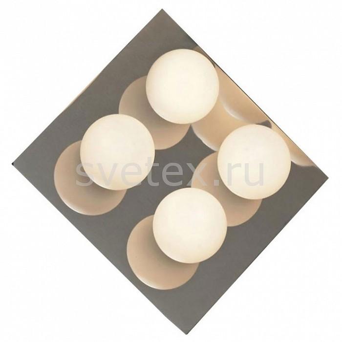 Накладной светильник LussoleНакладные светильники<br>Артикул - LSQ-8901-04,Бренд - Lussole (Италия),Коллекция - Malta,Гарантия, месяцы - 24,Время изготовления, дней - 1,Длина, мм - 260,Ширина, мм - 260,Выступ, мм - 120,Тип лампы - галогеновая,Общее кол-во ламп - 4,Напряжение питания лампы, В - 220,Максимальная мощность лампы, Вт - 40,Цвет лампы - белый теплый,Лампы в комплекте - галогеновые G9,Цвет плафонов и подвесок - белый,Тип поверхности плафонов - матовый,Материал плафонов и подвесок - стекло,Цвет арматуры - хром,Тип поверхности арматуры - глянцевый,Материал арматуры - сталь,Количество плафонов - 4,Форма и тип колбы - пальчиковая,Тип цоколя лампы - G9,Цветовая температура, K - 2800 - 3200 K,Экономичнее лампы накаливания - на 50%,Класс электробезопасности - I,Общая мощность, Вт - 160,Степень пылевлагозащиты, IP - 44<br>