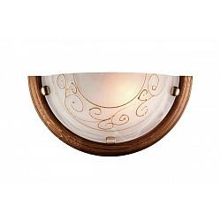 Накладной светильник SonexСветодиодные<br>Артикул - SN_034,Бренд - Sonex (Россия),Коллекция - Barocco Wood,Гарантия, месяцы - 24,Время изготовления, дней - 1,Высота, мм - 360,Тип лампы - компактная люминесцентная [КЛЛ] ИЛИнакаливания ИЛИсветодиодная [LED],Общее кол-во ламп - 1,Напряжение питания лампы, В - 220,Максимальная мощность лампы, Вт - 100,Лампы в комплекте - отсутствуют,Цвет плафонов и подвесок - белый алебастр с золотым орнаментом,Тип поверхности плафонов - матовый,Материал плафонов и подвесок - стекло,Цвет арматуры - бронза, дуб,Тип поверхности арматуры - глянцевый,Материал арматуры - дерево, металл,Возможность подлючения диммера - можно, если установить лампу накаливания,Тип цоколя лампы - E27,Класс электробезопасности - I,Степень пылевлагозащиты, IP - 20,Диапазон рабочих температур - комнатная температура<br>