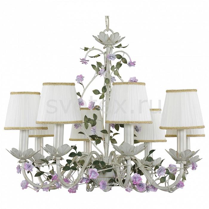 Подвесная люстра LightstarСветильники<br>Артикул - LS_785080,Бренд - Lightstar (Италия),Коллекция - Aiola,Гарантия, месяцы - 24,Высота, мм - 700-1270,Диаметр, мм - 630,Тип лампы - компактная люминесцентная [КЛЛ] ИЛИнакаливания ИЛИсветодиодная [LED],Общее кол-во ламп - 8,Напряжение питания лампы, В - 220,Максимальная мощность лампы, Вт - 40,Лампы в комплекте - отсутствуют,Цвет плафонов и подвесок - белый,Тип поверхности плафонов - матовый,Материал плафонов и подвесок - текстиль,Цвет арматуры - белый, зеленый, сиреневы,Тип поверхности арматуры - матовый,Материал арматуры - металл,Количество плафонов - 8,Возможность подлючения диммера - можно, если установить лампу накаливания,Тип цоколя лампы - E14,Класс электробезопасности - I,Общая мощность, Вт - 320,Степень пылевлагозащиты, IP - 20,Диапазон рабочих температур - комнатная температура,Дополнительные параметры - способ крепления светильника к потолку - на крюке, регулируется по высоте<br>