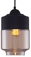 Подвесной светильник Kink LightДля кухни<br>Артикул - KL_4716-1A,Бренд - Kink Light (Китай),Коллекция - Миг,Гарантия, месяцы - 12,Высота, мм - 1200,Диаметр, мм - 180,Размер упаковки, мм - 470x240x240,Тип лампы - компактная люминесцентная [КЛЛ] ИЛИнакаливания ИЛИсветодиодная [LED],Общее кол-во ламп - 1,Напряжение питания лампы, В - 220,Максимальная мощность лампы, Вт - 40,Лампы в комплекте - отсутствуют,Цвет плафонов и подвесок - янтарный,Тип поверхности плафонов - прозрачный,Материал плафонов и подвесок - стекло,Цвет арматуры - черный,Тип поверхности арматуры - матовый,Материал арматуры - металл,Количество плафонов - 1,Возможность подлючения диммера - можно, если установить лампу накаливания,Тип цоколя лампы - E27,Класс электробезопасности - I,Степень пылевлагозащиты, IP - 20,Диапазон рабочих температур - комнатная температура,Дополнительные параметры - способ крепления к потолку - на монтажной пластине<br>