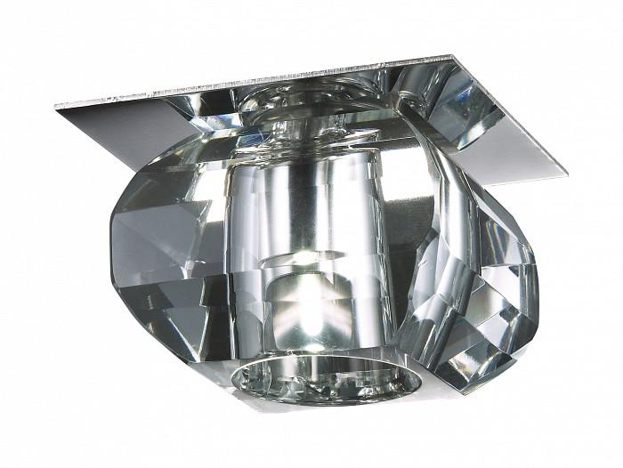 Фото Встраиваемый светильник Novotech Crystal-LED 357010
