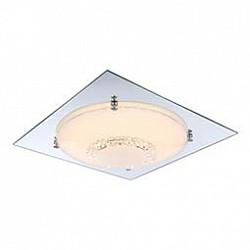 Накладной светильник GloboКвадратные<br>Артикул - GB_48251-18,Бренд - Globo (Австрия),Коллекция - Yucatan,Гарантия, месяцы - 24,Высота, мм - 85,Размер упаковки, мм - 455x130x455,Тип лампы - светодиодная [LED],Общее кол-во ламп - 1,Напряжение питания лампы, В - 29.7,Максимальная мощность лампы, Вт - 18,Лампы в комплекте - светодиодная [LED],Цвет плафонов и подвесок - белый, неокрашенный,Тип поверхности плафонов - матовый, прозрачный,Материал плафонов и подвесок - стекло, хрусталь K9,Цвет арматуры - хром,Тип поверхности арматуры - глянцевый,Материал арматуры - металл, стекло,Возможность подлючения диммера - нельзя,Класс электробезопасности - I,Степень пылевлагозащиты, IP - 20,Диапазон рабочих температур - комнатная температура,Дополнительные параметры - способ крепления светильника к потолку - на монтажной пластине<br>