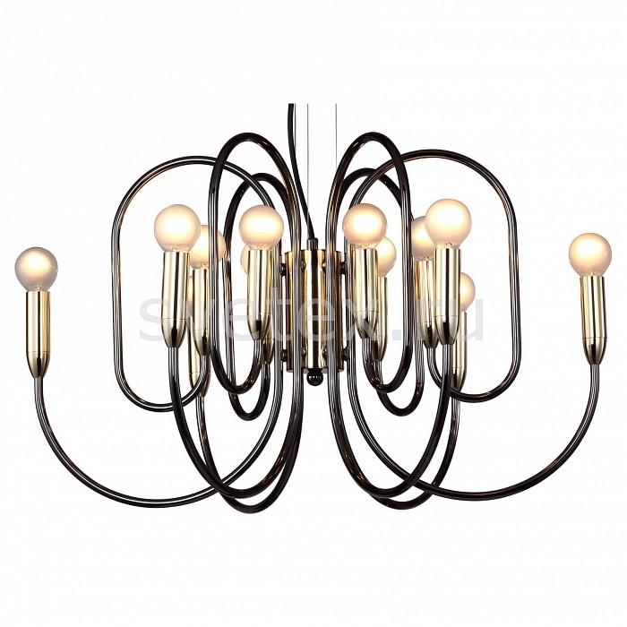 Подвесная люстра Drolling 1676-12P FavouriteЛюстры<br>Артикул - FV_1676-12P,Бренд - Favourite (Германия),Коллекция - Drolling,Гарантия, месяцы - 24,Высота, мм - 370-1000,Диаметр, мм - 600,Тип лампы - компактная люминесцентная [КЛЛ] ИЛИнакаливания ИЛИсветодиодная [LED],Общее кол-во ламп - 12,Напряжение питания лампы, В - 220,Максимальная мощность лампы, Вт - 40,Лампы в комплекте - отсутствуют,Цвет арматуры - золото, хром черный,Тип поверхности арматуры - глянцевый, матовый,Материал арматуры - металл,Возможность подлючения диммера - можно, если установить лампу накаливания,Тип цоколя лампы - E14,Класс электробезопасности - I,Общая мощность, Вт - 480,Степень пылевлагозащиты, IP - 20,Диапазон рабочих температур - комнатная температура,Дополнительные параметры - способ крепления светильника к потолку - на крюке, регулируется по высоте<br>