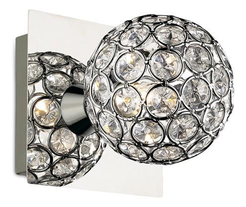 Бра Odeon LightХРУСТАЛЬНЫЕ светильники<br>Артикул - OD_2472_1W,Бренд - Odeon Light (Италия),Гарантия, месяцы - 24,Время изготовления, дней - 1,Ширина, мм - 100,Высота, мм - 100,Выступ, мм - 120,Тип лампы - галогеновая,Общее кол-во ламп - 1,Напряжение питания лампы, В - 220,Максимальная мощность лампы, Вт - 40,Цвет лампы - белый теплый,Лампы в комплекте - галогеновая G9,Цвет плафонов и подвесок - неокрашенный,Тип поверхности плафонов - прозрачный,Материал плафонов и подвесок - хрусталь,Цвет арматуры - хром,Тип поверхности арматуры - глянцевый,Материал арматуры - металл,Количество плафонов - 1,Наличие выключателя, диммера или пульта ДУ - выключатель,Возможность подлючения диммера - можно,Форма и тип колбы - пальчиковая,Тип цоколя лампы - G9,Цветовая температура, K - 2800 - 3200 K,Экономичнее лампы накаливания - на 50%,Класс электробезопасности - I,Степень пылевлагозащиты, IP - 20,Диапазон рабочих температур - комнатная температура,Дополнительные параметры - светильник предназначен для использования со скрытой проводкой<br>