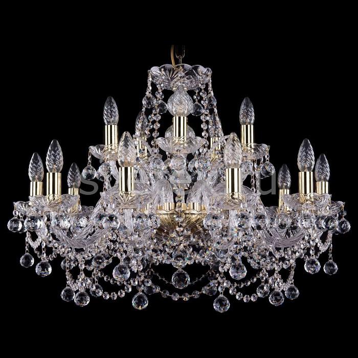 Подвесная люстра Bohemia Ivele CrystalБолее 6 ламп<br>Артикул - BI_1411_10_5_240_G_Balls,Бренд - Bohemia Ivele Crystal (Чехия),Коллекция - 1411,Гарантия, месяцы - 24,Высота, мм - 530,Диаметр, мм - 670,Размер упаковки, мм - 640x640x320,Тип лампы - компактная люминесцентная [КЛЛ] ИЛИнакаливания ИЛИсветодиодная [LED],Количество ламп - 7,Общее кол-во ламп - 15,Напряжение питания лампы, В - 220,Максимальная мощность лампы, Вт - 40,Лампы в комплекте - отсутствуют,Цвет плафонов и подвесок - неокрашенный,Тип поверхности плафонов - прозрачный,Материал плафонов и подвесок - хрусталь,Цвет арматуры - золото, неокрашенный,Тип поверхности арматуры - глянцевый, прозрачный,Материал арматуры - металл, стекло,Возможность подлючения диммера - можно, если установить лампу накаливания,Форма и тип колбы - свеча ИЛИ свеча на ветру,Тип цоколя лампы - E14,Класс электробезопасности - I,Общая мощность, Вт - 340,Степень пылевлагозащиты, IP - 20,Диапазон рабочих температур - комнатная температура,Дополнительные параметры - способ крепления светильника к потолку - на крюке, указана высота светильники без подвеса<br>