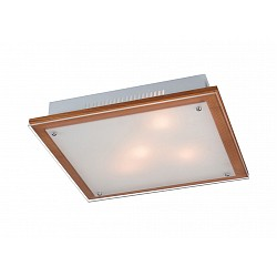 Накладной светильник SonexКвадратные<br>Артикул - SN_3242,Бренд - Sonex (Россия),Коллекция - Ferola,Гарантия, месяцы - 24,Высота, мм - 65,Тип лампы - компактная люминесцентная [КЛЛ] ИЛИнакаливания ИЛИсветодиодная [LED],Общее кол-во ламп - 3,Напряжение питания лампы, В - 220,Максимальная мощность лампы, Вт - 60,Лампы в комплекте - отсутствуют,Цвет плафонов и подвесок - белый,Тип поверхности плафонов - матовый,Материал плафонов и подвесок - стекло,Цвет арматуры - светлый орех, хром,Тип поверхности арматуры - матовый,Материал арматуры - дерево, металл,Возможность подлючения диммера - можно, если установить лампу накаливания,Тип цоколя лампы - E27,Класс электробезопасности - I,Общая мощность, Вт - 180,Степень пылевлагозащиты, IP - 20,Диапазон рабочих температур - комнатная температура<br>