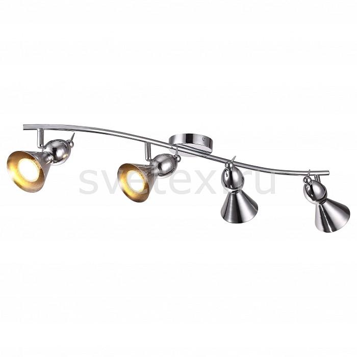 Спот Arte LampПотолочные светильники и люстры<br>Артикул - AR_A9229PL-4CC,Бренд - Arte Lamp (Италия),Коллекция - Picchio,Гарантия, месяцы - 24,Длина, мм - 840,Ширина, мм - 170,Выступ, мм - 180,Размер упаковки, мм - 160x110x860,Тип лампы - галогеновая ИЛИсветодиодная [LED],Общее кол-во ламп - 4,Напряжение питания лампы, В - 220,Максимальная мощность лампы, Вт - 50,Лампы в комплекте - отсутствуют,Цвет плафонов и подвесок - хром,Тип поверхности плафонов - глянцевый,Материал плафонов и подвесок - металл,Цвет арматуры - хром,Тип поверхности арматуры - глянцевый,Материал арматуры - металл,Количество плафонов - 4,Возможность подлючения диммера - можно, если установить галогеновую лампу,Форма и тип колбы - полусферическая с рефлектором,Тип цоколя лампы - GU10,Класс электробезопасности - I,Общая мощность, Вт - 200,Степень пылевлагозащиты, IP - 20,Диапазон рабочих температур - комнатная температура,Дополнительные параметры - поворотный светильник<br>