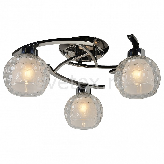 Потолочная люстра IDLampЛюстры<br>Артикул - ID_875_3PF-Darkchrome,Бренд - IDLamp (Италия),Коллекция - 875,Гарантия, месяцы - 24,Время изготовления, дней - 1,Высота, мм - 230,Диаметр, мм - 520,Тип лампы - компактная люминесцентная [КЛЛ] ИЛИнакаливания ИЛИсветодиодная [LED],Общее кол-во ламп - 3,Напряжение питания лампы, В - 220,Максимальная мощность лампы, Вт - 60,Лампы в комплекте - отсутствуют,Цвет плафонов и подвесок - белый, неокрашенный,Тип поверхности плафонов - матовый, прозрачный, рельефный,Материал плафонов и подвесок - стекло,Цвет арматуры - хром черненный,Тип поверхности арматуры - глянцевый,Материал арматуры - металл,Количество плафонов - 3,Возможность подлючения диммера - можно, если установить лампу накаливания,Тип цоколя лампы - E27,Общая мощность, Вт - 180,Степень пылевлагозащиты, IP - 20,Диапазон рабочих температур - комнатная температура<br>