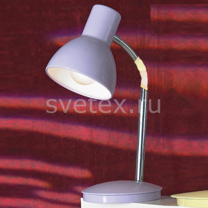 Настольная лампа LussoleСветильники<br>Артикул - LST-4834-01,Бренд - Lussole (Италия),Коллекция - Paris,Гарантия, месяцы - 24,Время изготовления, дней - 1,Ширина, мм - 140,Высота, мм - 280-400,Тип лампы - компактная люминесцентная [КЛЛ] ИЛИнакаливания ИЛИсветодиодная [LED],Общее кол-во ламп - 1,Напряжение питания лампы, В - 220,Максимальная мощность лампы, Вт - 60,Лампы в комплекте - отсутствуют,Цвет плафонов и подвесок - сиреневый,Тип поверхности плафонов - матовый,Материал плафонов и подвесок - сталь,Цвет арматуры - сиреневый,Тип поверхности арматуры - матовый,Материал арматуры - сталь,Количество плафонов - 1,Наличие выключателя, диммера или пульта ДУ - выключатель,Компоненты, входящие в комплект - провод электропитания с вилкой без заземления,Тип цоколя лампы - E27,Класс электробезопасности - II,Степень пылевлагозащиты, IP - 20,Диапазон рабочих температур - комнатная температура,Дополнительные параметры - поворотный светильник<br>