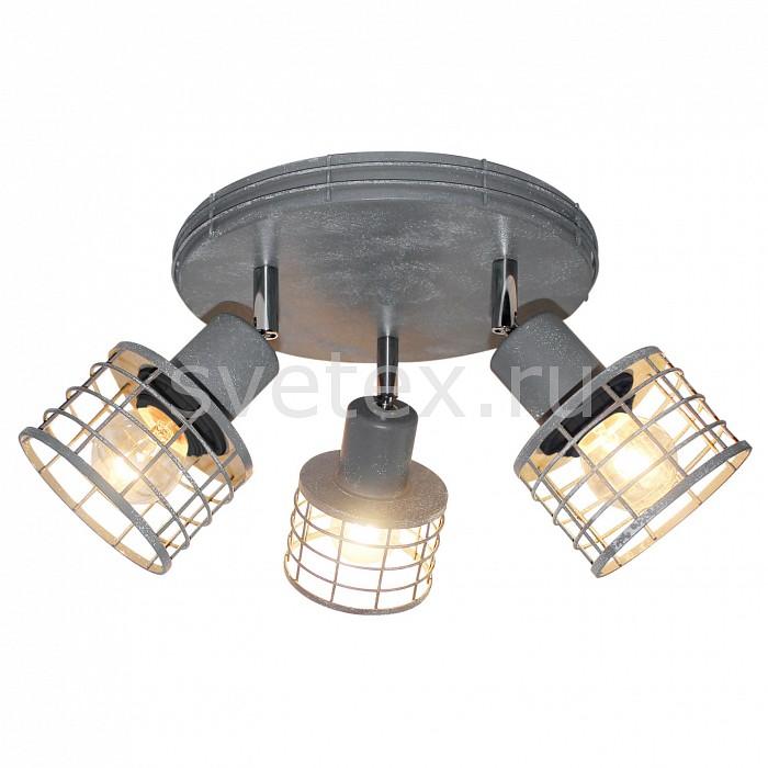Спот LussoleКруглые<br>Артикул - LSP-9969,Бренд - Lussole (Италия),Коллекция - Duet,Гарантия, месяцы - 24,Выступ, мм - 150,Диаметр, мм - 250,Тип лампы - компактная люминесцентная [КЛЛ] ИЛИнакаливания ИЛИсветодиодная [LED],Общее кол-во ламп - 3,Напряжение питания лампы, В - 220,Максимальная мощность лампы, Вт - 60,Лампы в комплекте - отсутствуют,Цвет плафонов и подвесок - серый,Тип поверхности плафонов - матовый,Материал плафонов и подвесок - металл,Цвет арматуры - серый,Тип поверхности арматуры - глянцевый,Материал арматуры - металл,Количество плафонов - 1,Возможность подлючения диммера - можно, если установить лампу накаливания,Тип цоколя лампы - E27,Класс электробезопасности - I,Общая мощность, Вт - 180,Степень пылевлагозащиты, IP - 20,Диапазон рабочих температур - комнатная температура,Дополнительные параметры - поворотный светильник<br>