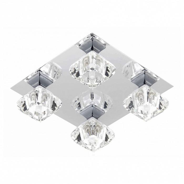 Накладной светильник BrilliantКвадратные<br>Артикул - BT_G06635B15,Бренд - Brilliant (Германия),Коллекция - Fortuna,Гарантия, месяцы - 24,Время изготовления, дней - 1,Длина, мм - 250,Ширина, мм - 250,Высота, мм - 100,Тип лампы - галогеновая,Общее кол-во ламп - 4,Напряжение питания лампы, В - 220,Максимальная мощность лампы, Вт - 40,Цвет лампы - белый теплый,Лампы в комплекте - галогеновые G9,Цвет плафонов и подвесок - неокрашенный,Тип поверхности плафонов - прозрачный,Материал плафонов и подвесок - стекло,Цвет арматуры - хром,Тип поверхности арматуры - глянцевый,Материал арматуры - металл,Количество плафонов - 4,Возможность подлючения диммера - можно,Форма и тип колбы - пальчиковая,Тип цоколя лампы - G9,Цветовая температура, K - 2800 - 3200 K,Экономичнее лампы накаливания - на 50%,Класс электробезопасности - I,Общая мощность, Вт - 160,Степень пылевлагозащиты, IP - 20,Диапазон рабочих температур - комнатная температура<br>