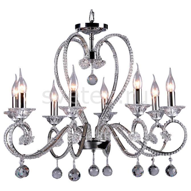 Подвесная люстра MaytoniБолее 6 ламп<br>Артикул - MY_DIA332-08-N,Бренд - Maytoni (Германия),Коллекция - Amore,Гарантия, месяцы - 24,Высота, мм - 560-1060,Диаметр, мм - 680,Тип лампы - компактная люминесцентная [КЛЛ] ИЛИнакаливания ИЛИсветодиодная [LED],Общее кол-во ламп - 8,Напряжение питания лампы, В - 220,Максимальная мощность лампы, Вт - 60,Лампы в комплекте - отсутствуют,Цвет плафонов и подвесок - неокрашенный,Тип поверхности плафонов - прозрачный,Материал плафонов и подвесок - хрусталь,Цвет арматуры - неокрашенный, хром,Тип поверхности арматуры - глянцевый, прозрачный,Материал арматуры - металл, стекло,Возможность подлючения диммера - можно, если установить лампу накаливания,Форма и тип колбы - свеча ИЛИ свеча на ветру,Тип цоколя лампы - E14,Класс электробезопасности - I,Общая мощность, Вт - 480,Степень пылевлагозащиты, IP - 20,Диапазон рабочих температур - комнатная температура,Дополнительные параметры - способ крепления светильника к потолку – на крюке<br>