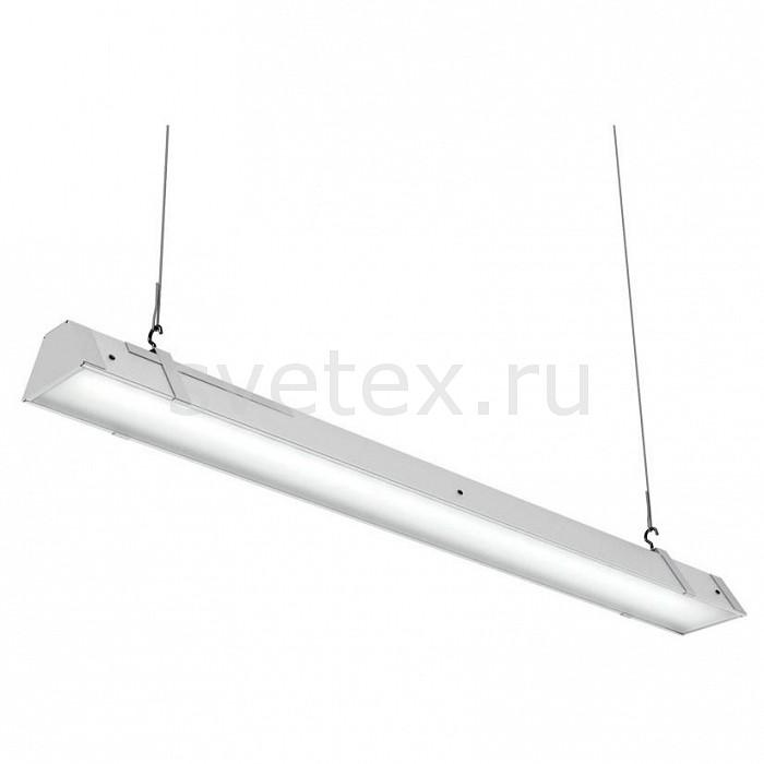 Подвесной светильник Led EffectСветодиодные<br>Артикул - LED_386435,Бренд - Led Effect (Россия),Коллекция - Ритейл,Гарантия, месяцы - 36,Длина, мм - 965,Ширина, мм - 113,Высота, мм - 111,Размер упаковки, мм - 1080x130x90,Тип лампы - светодиодная [LED],Общее кол-во ламп - 1,Максимальная мощность лампы, Вт - 40,Цвет лампы - белый,Лампы в комплекте - светодиодная [LED],Цвет плафонов и подвесок - белый,Тип поверхности плафонов - матовый,Материал плафонов и подвесок - полимер,Цвет арматуры - белый,Тип поверхности арматуры - матовый,Материал арматуры - металл,Количество плафонов - 1,Цветовая температура, K - 4000 K,Световой поток, лм - 3300,Экономичнее лампы накаливания - В 5, 4 раза,Светоотдача, лм/Вт - 83,Ресурс лампы - 50 тыс. час.,Класс электробезопасности - I,Напряжение питания, В - 175-260,Коэффициент мощности - 0.9,Степень пылевлагозащиты, IP - 20,Диапазон рабочих температур - от -0^C до +45^C,Индекс цветопередачи, % - 80,Пульсации светового потока, % менее - 1,Климатическое исполнение - УХЛ 4,Дополнительные параметры - проходной светильник, указана высота светильника без подвеса, текстурированный рассеиватель<br>